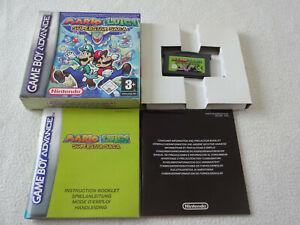 Mario & Luigi Superstar Saga Nintendo GBA Spiel komplett mitOVP & Anleitung