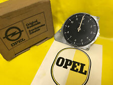 NEU ORIGINAL Opel Uhr im Tacho Rekord D Commodre B Zeituhr VDO Made in Germany