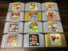 Huge Lot of Nintendo 64 N64 Video Games Pick a Title *CLEANED,TESTED,AUTHENTIC*