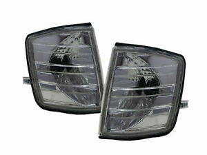 C-CLASS W201 190D 190E 82-93 Sedan Clear Corner Light Chrome for Mercedes-Benz