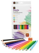 My First 12 Jumbo Pencils with Sharpener - Ideal for Infant Toddler Easy to Hold