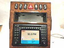 Mercedes console CONTROL SWITCHES w210 e320 e430 command navigation wood trim