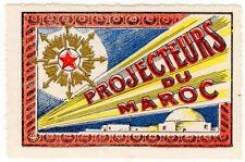 (i. b) Cenicienta: delandre francés regimientos-Marruecos Proyectores
