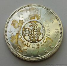 1964 Uncirculated Canada .800 Silver Dollar