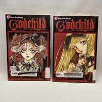 Godchild Manga English Books # 4 & 7 - Paperbacks - (2 Book Lot) Free Shipping