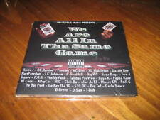 We are All in tha Same Game Rap CD - BIG TEF AlleyCat GIPPER BT Lucci Spice 1