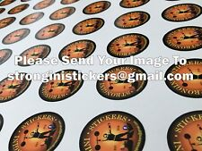 business stickers Custom Print Your Design Decals Labels Logo Stickers bespoke