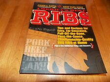 AMERICA'S BEST RIBS BBQ Barbeque Rib Recipes Sauces Pork Beef Bison Cook Book