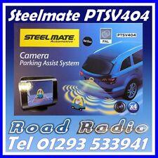 Steelmate PTSV404 Matt Nero 4 Eye sensori parcheggio, TELECAMERA E MONITOR