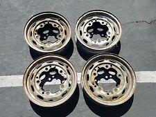 "15"" Porsche 356 Lemmerz B 63 1585 oem factory wheels rims"