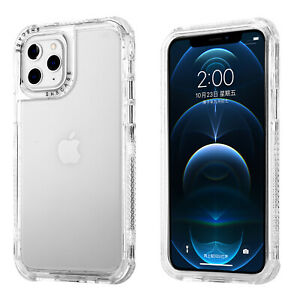 Clear Shockproof Bumper Defender Case For iPhone 13 12 Pro Max 11 XS XR 8 7 Plus