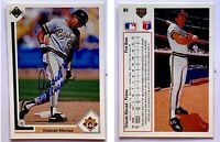 Orlando Merced Signed 1991 Upper Deck #84 Card Pittsburgh Pirates Auto Autograph
