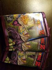"""Dragonball Z DBZ - """"Awakening"""" factory Sealed  Booster Pack × 3"""
