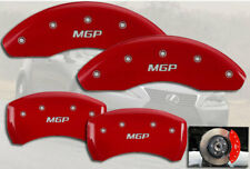 """2014-2015 Lexus IS250 Front + Rear Red """"MGP"""" Brake Disc Caliper Covers 4pc Set"""