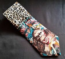 King Kong Novelty Collector Men's Neck Tie 100% Silk Made in USA