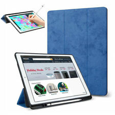 Wireless Keyboard+Smart Case TPU Cover with Pencil Holder For iPad 6th 9.7 2018