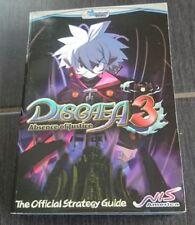 Disgaea 3: absence of Justice Official Strategy Guide (inglés) solución libro