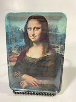 "Vintage Mebel Mona Lisa Melamine Small Tray-Made In Italy 4 x 5-3/4"""
