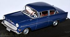 Opel Rekord P1 1957-60 dunkelblau dark-blue 1:43 Ixo
