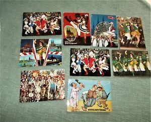 *9 AK* Karneval Köln Ehrengarde Altstäder Funken Mariechen Rote Funken ab 1974