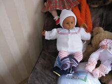 Babypuppe DDR mit Kleidung  60 cm