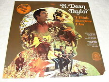 "R Dean Taylor ""I Think, Therefore I Am"" 1970 Rock LP, SEALED/ MINT!!, Original"
