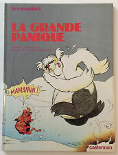 LES TOYOTTES n°4 ¤ LA GRANDE PANIQUE ¤ EO 1981 CASTERMAN