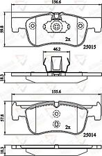 Allied Nippon Front Brake Pad Set ADB02148  - BRAND NEW - 5 YEAR WARRANTY