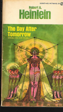 Day after Tomorrow by Robert A. Heinlein Paperback Signet Gene Szafran Cover