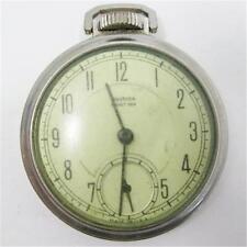 1940 Westclox Pocket Ben Mechanical Winding Dollar Watch Serviced USA
