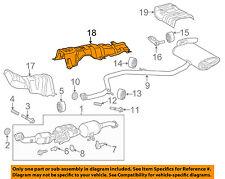 TOYOTA OEM 16-18 Prius 1.8L-L4 Exhaust-Heat Shield 5815347050