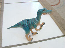 "Disney's Dinosaur ""Raptor"" Action Figure blue working light up eyes roaring"