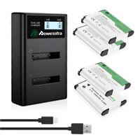 NP-45 NP-45A Battery + Charger For Fujifilm FinePix XP20 XP30 XP50 XP60 EN-EL10