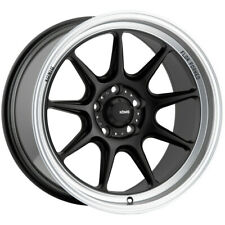 "Konig 105MB Countergram 15x7.5 4x100 +35mm Matte Black Wheel Rim 15"" Inch"