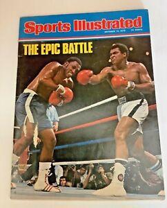 "Sports Illustrated October 13, 1975 ""The Epic Battle"" Muhammad Ali v.Joe Frazier"