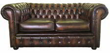 Chesterfield Leather Up to 2 Seats Sofas