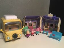 Peppa Pig Lot School House, Camper Van and Figures!