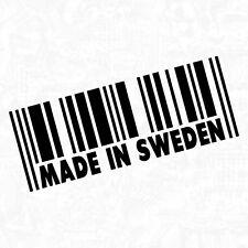 Made In Sweden Schweden Göteborg cardecal decal Sticker Auto Aufkleber JDM 15cm