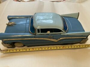 Nice 12 Inch 1958 Ford Japanese Tin Car