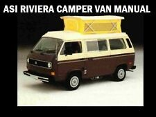 ASI RV CAMPER MOTORHOME MANUALS & VW RIVIERA BUS VAN Appliance & Furnace Service