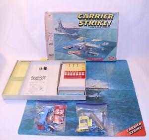 VTG Carrier Strike Board Game Milton Bradley 4713 Naval US Navy 1977 MB Complete