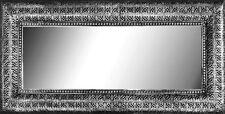 Rectangular interlace Liquorice Large mirror decorative frame metal wall mirror