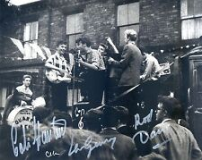 JOHN LENNON and his QUARRYMEN PLAYING LIVE in 1957 - HAND SIGNED PHOTO. No.1