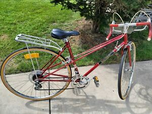 27 Raleigh Mixte Touring Road Bike made in england 19 inch frame biie rides nice