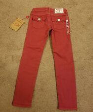 NWT True Religion Girls Misty Pants, Very Berry Size 8
