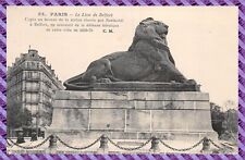 Carte Postale - Paris - le Lion de Belfort