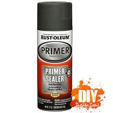 Rust-Oleum Primer Undercoat Sealer Spray Paint Bonds Base Coats Metal Fibreglass
