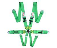 STR 6-Point Race Harness FIA 8853-2016 (2023) Safety Seat Belt IVA Safe - GREEN