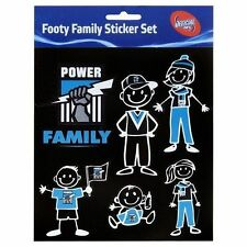 PORT ADELAIDE POWER AFL LOGO MY FAMILY STICK FIGURES 14 STICKERS SET