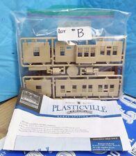 BACHMANN SILVER SERIES PLASTICVILLE RURAL STATION #45521 HO SCALE MODEL KIT-6E#B